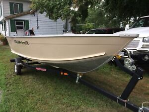 Almost New 2008 Polarkraft 1470 (14ft) w/ 2009 9.9hp Suzuki