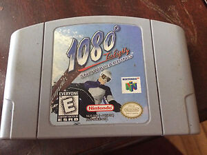 1080 Snowboarding and Mission Impossible for N64