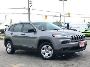 2016 Jeep Cherokee SPORT**2.4L**BLUETOOTH**