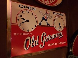 1950s Old German sign