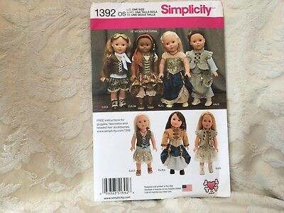 New Simplicity Pattern 1392  Steampunk Style 18