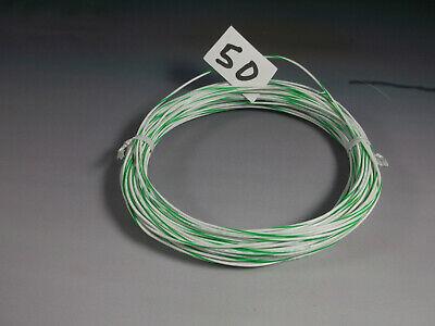 24 Gauge Hookup Wire Silver Plated Copper Teflon Sheath Qty50 Feet