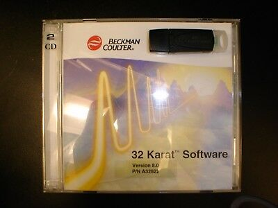 Beckman Coulter 32 Karat V8 Computersw For Winxp For System Gold Hplc Wboards