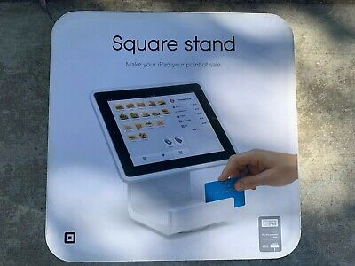 Square Stand For Ipad Cash Register Terminal Credit Card Reader Ipad 23 New