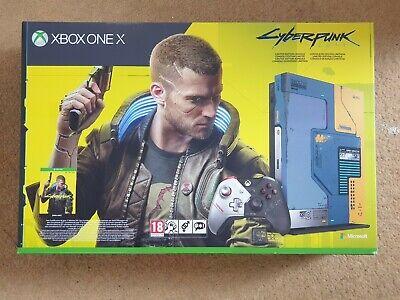 B.new Microsoft Xbox One X CYBERPUNK 2077 LIMITED EDITION Console Quick Dispatch
