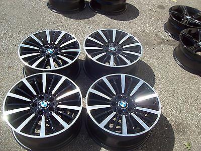 FACTORY BMW 320i 328i 335i 428i 435i WHEELS RIMS 12 13 14 2015 2016 Black #71544