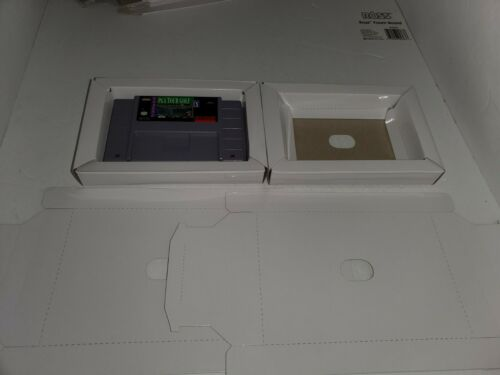 2  NEW Replacement Cardboard Tray insert for Super Nintendo SNES ( No Game) R29