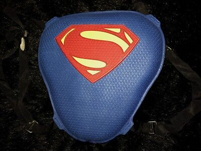 boys SUPERMAN CHEST PLATE pretend play HALLOWEEN COSTUME adjustable CUTE CLEAN @](Superman Chest Plate)