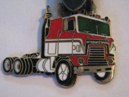 VINTAGE TRUCKER INTERNATIONAL TRUCK TRUCKING WATCH FOB
