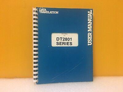 - Data Translation DT2801 Series User's Manual