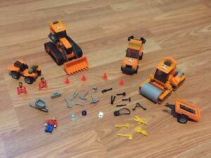 Jeux de construction style Lego « Chantier »
