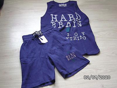 zweiteiliges Set lässige Shorts und Shirt Gr. 48/50 NEU - Lässige Short Set