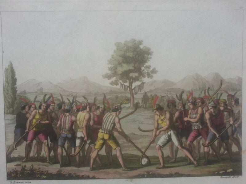 Chile Santiago Ferrario. First edition 1816 (Chilean playing ciueca)