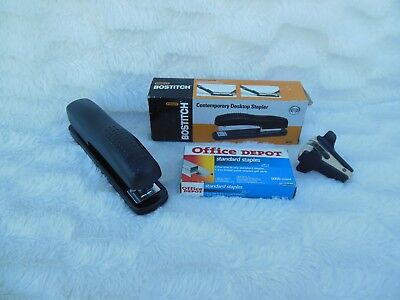 Stanley Bostitch Two Staplers Staples And Staple Remover Lot