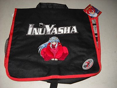 InuYasha sitting Mythware black bag messenger book laptop style NEW UNUSED OOP