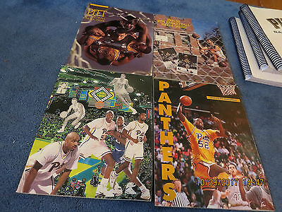 4 Pitt Panther Basketball Media Guides 1990 91 1991 92 1992 93  1993 94