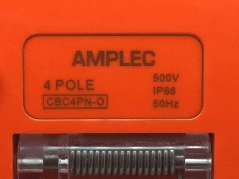 Amplec PB41010A66 Portable Power Board Single Phase 10AMP 4 Outlet IP66