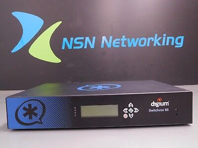 Digium Switchvox 65 Aa65 Asterisk Voip System 2as65001lf-e No Rack Ears