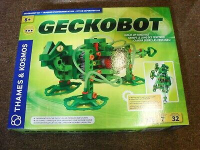 New & Sealed Thames & Kosmos GECKOBOT Wall Climbing Robot 176 pc Science Project