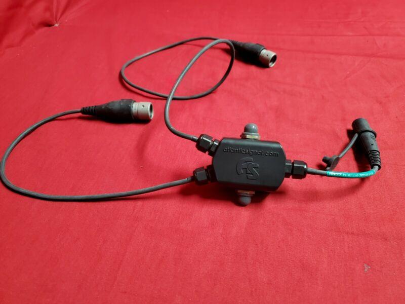 Atlantic Signal Dual Comm PTT Push To Talk