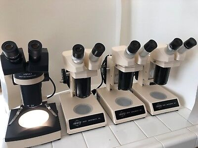 Swift Stereo Microscope Series Sm90 And Sm80.