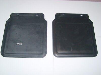 2 Stück PVC Schmutzfänger  für PKW Anhänger  230 x 200 mm 8 mm