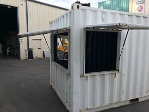 20ft Shipping Container B-GRADE Modded 3 Kiosk shutters Port Macquarie Port Macquarie City Preview