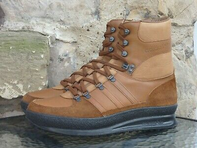 Vintage 1980s Adidas Trekking Boots UK 10 Made In Yugoslavia OG 80s Winter Brown