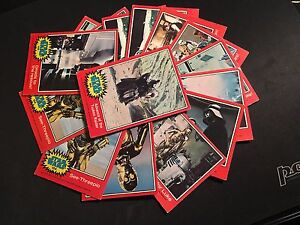 Star Wars trading cards - SPARES - 2nd SERIES - RED - 13 INDIVIDUAL CARDS