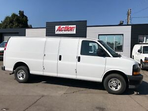 2018 Chevrolet Express 2500 155ext fin or leasing available OAC