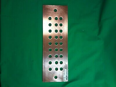 124 Main Grounding Bar Copper Busbar