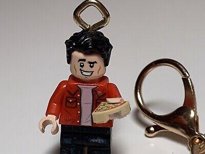 NEW GENUINE LEGO FRIENDS Central Perk Joey Tribbianni Minifigure 21319 Keychain