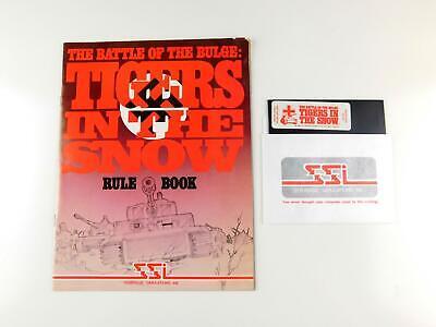 Atari 400 / 800 Computer BATTLE OF THE BULGE Disk & Manual by SSI