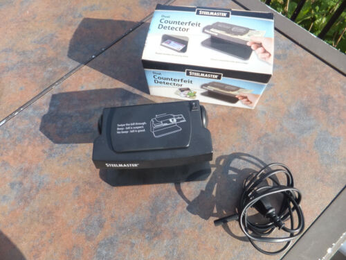 MMF Steelmaster Dual Counterfeit Money & Security Marks Detector 200SM