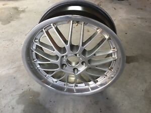 18 inch alloy rims  BBS LM Replica - Set of 4, 1 damaged