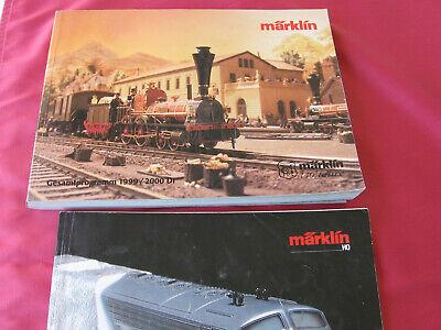 Märklin Kataloge  -  1981 + 1990/91 + 1999/2000