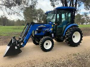 New Holland Boomer 50D Tractor West Bendigo Bendigo City Preview