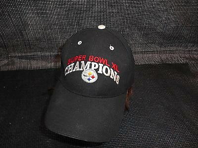 PITTSBURGH STEELERS Super Bowl XL Champions MENS HAT Cap NFL Snapback Souvenir