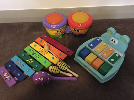 TOY BUNDLE - MUSIC - Fisher Price, Little Tikes Meadowbank Ryde Area Preview