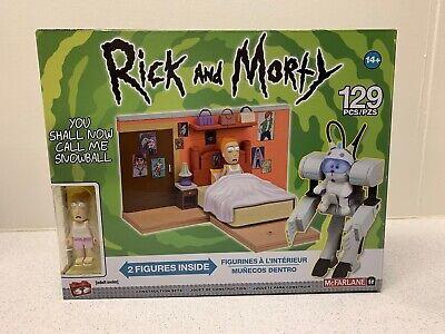 You Shall Call Me Snowball Rick and Morty Medium Set McFarlane Construction Set