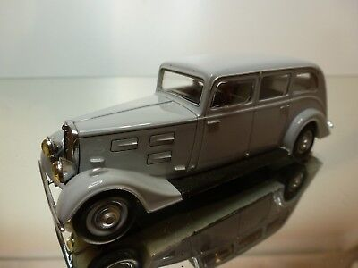 PARADCAR 117 PEUGEOT 601 1934 FAMILIALE GREY 1:43 GOOD CONDITION 17/16