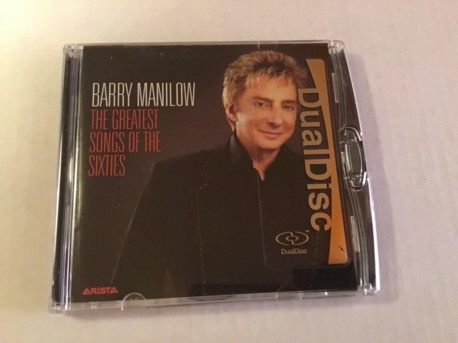 BARRY MANILOW DUAL DISC CD DVD - THE GREATEST SONGS OF THE SIXTIES - $5.00