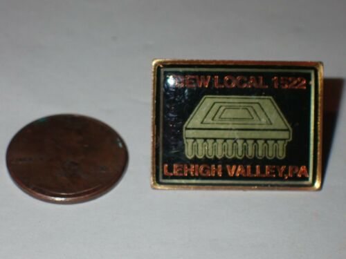 IBEW Collectible Lapel Pin Local 1522 Lehigh Valley PA