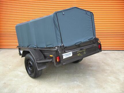 Trailer heavy duty with cover