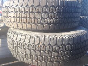 Two like new winter tires 195/70r14