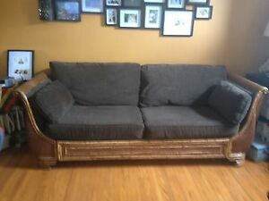 Morroccan couch.
