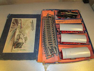Fleischmann U 330/1 R Zugset mit Dampflok Br 99 221 Uhrwerkmotor Spur 0