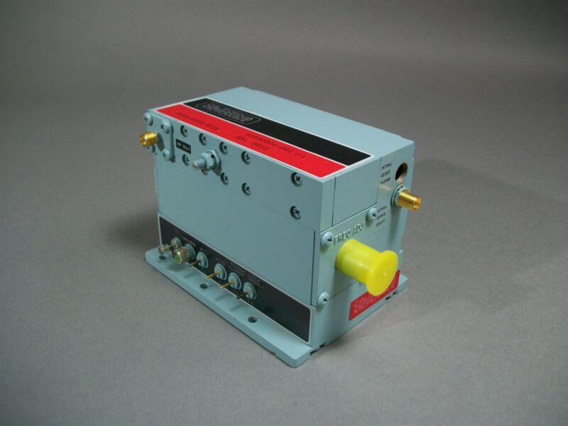California Microwave 64490006-001 RF-BNC SMA Oscillator 5855-6355MHz - Used