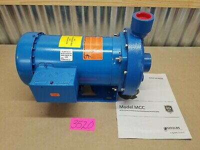 Goulds Water Technology 2mc1h9c0 Centrifugal Pump3 Hpinlet 1-12 Npt
