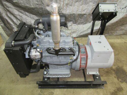 16 KW DIESEL KUBOTA GENERATOR 12 LEAD RE-CONNECTABLE 120/240 VOLT 1 PH MARATHON